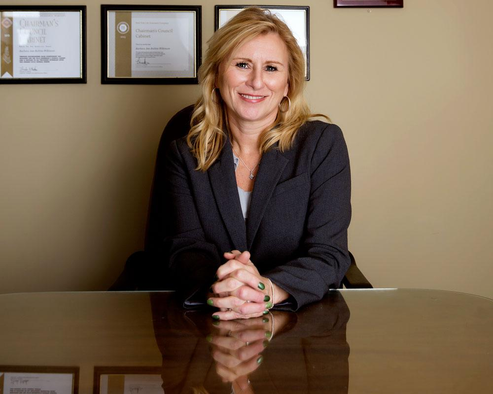 BARBARA ANN BOBBIN-WILKINSON  Your Registered Representative & Insurance Agent