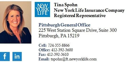 TINA SPOHN  Your Registered Representative & Insurance Agent